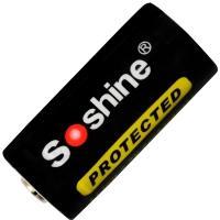 Аккумулятор литиевый Li-Ion CR123A / 16340 Soshine 3.7V (700mAh), защищенный
