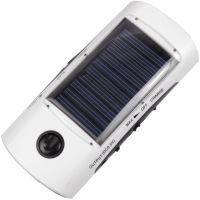 3 в 1 - Power Bank c солнечной панелью + FM радио + фонарь T-001 (5V, 2600mAh)