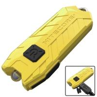 Фонарь Nitecore TUBE (1 LED, 45 люмен, 2 режима, USB), желтый