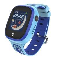 Часы детские, смарт-браслет Skmei DF31G, синие, в металлическом боксе