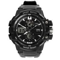 Часы Skmei 0990, черный-белый, в металлическом боксе