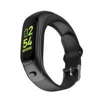 2 в 1 - Смарт-браслет + Bluetooth-гарнитура Skmei V08, черный