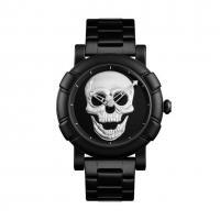 Часы Skmei 9178, черный-серый, в металлическом боксе