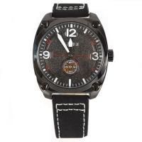 Часы кварцевые Skmei 9155, черные, в металлическом боксе