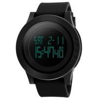 Часы Skmei 1142, черные, в металлическом боксе