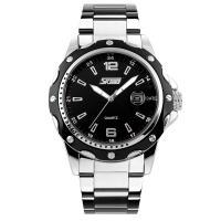 Часы Skmei 0992, черные, в металлической коробке