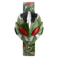 Часы детские Skmei Armor Hero 1239, зелёные, в металлическом боксе