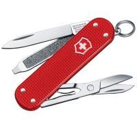 Нож складной, мультитул Victorinox Classic SD Alox Lim. Ed 2018 (58мм, 5функций), красный 0.6221.L18