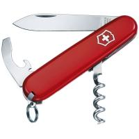 Мультитул Victorinox WAITER (84мм, 9 функций), красный 0.3303