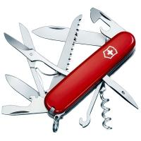 Мультитул Victorinox HUNTSMAN (91мм,15 функций), красный 1.3713