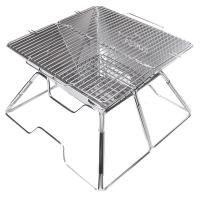 Гриль на углях Kovea Magic I Stainless BBQ KCG-0712 (360х50х200мм), нержавеющая сталь