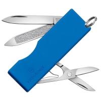 Нож складной, мультитул Victorinox Tomo (58мм, 5 функций), синий 0.6201.А2