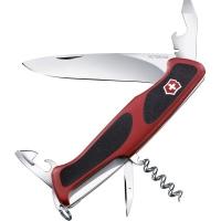 Нож складной, мультитул Victorinox Rangergrip 68 (130мм, 11 функций), красный 0.9553.С