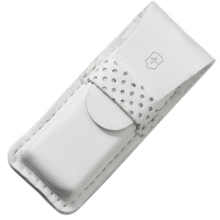 Чехол для ножей Victorinox Tomo (58мм) кожаный, белый 4.0762.7