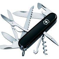 Нож складной, мультитул Victorinox Huntsman (91мм,15 функций), черный 1.3713.3