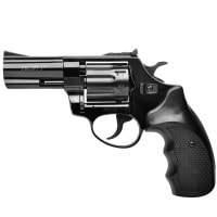 "Revolver chambered for Flaubert PROFI (3.0 "",4.0mm) , blued-plastic"