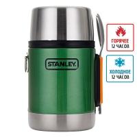 Термос для еды с ложкой Stanley Adventure SS (0.5 л), зеленый