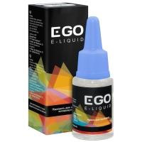Жидкость для электронных испарителей EGO E-liquid (10мл, 12мг), клубника+мята