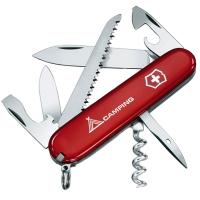 Нож складной, мультитул Victorinox Camper (91мм, 13 функций), красный 1.3613.71