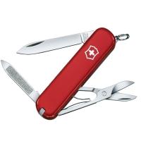 Нож складной, мультитул Victorinox Ambassador (74мм, 7 функций), красный 0.6503