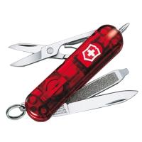 Нож складной, мультитул + LED Victorinox Signature Lite (58мм, 8 функций), красный 0.6226.Т