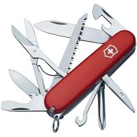 Нож складной, мультитул Victorinox Fieldmaster (91мм, 15 функций), красный 1.4713