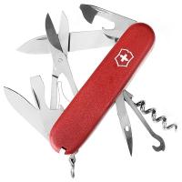 Нож складной, мультитул Victorinox Climber Ecoline (91мм,14 функций), красный 3.3703