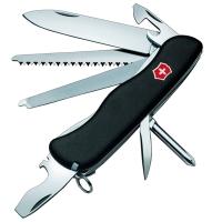 Нож складной, мультитул Victorinox Locksmith (111мм, 14 функций), черный 0.8493.3