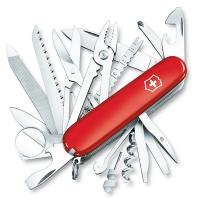 Нож складной, мультитул Victorinox Swisschamp (91мм, 33 функции), красный 1.6795