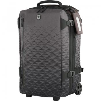 Чемодан-рюкзак на колесах Victorinox VX Touring (40/43л, 36x55x23/26см), черный 604322