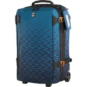 Чемодан-рюкзак на колесах Victorinox VX Touring (40/43л, 36x55x23/26см), синий 604322