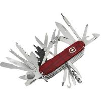 Нож складной, мультитул Victorinox Swisschamp Xlt (91мм, 50 функций), красный 1.6795.XLT