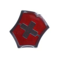 """Значок Victorinox """"Swiss emblem"""", красный 4.1888"""